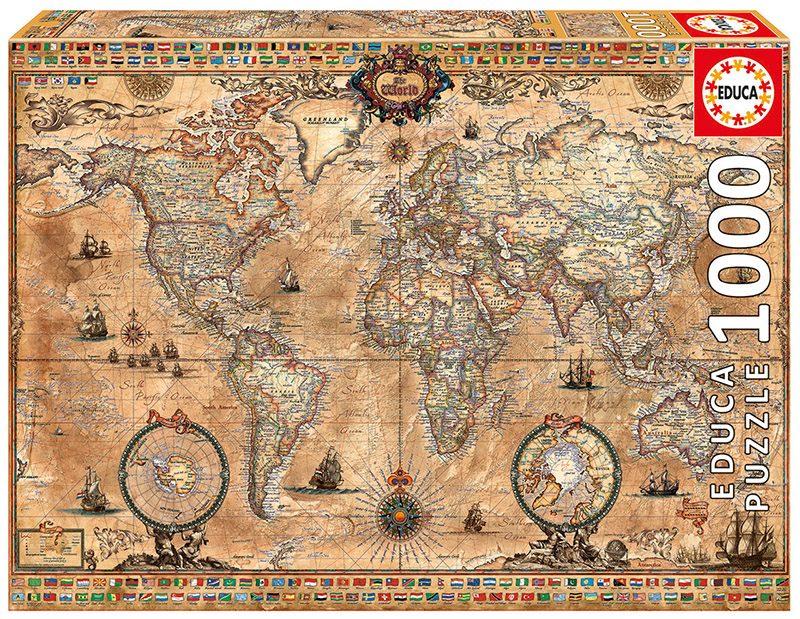 Puzzle Antická mapa sveta II image 2