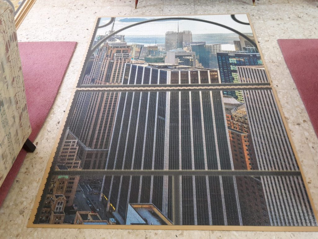 Puzzle Pohľad na New York image 5