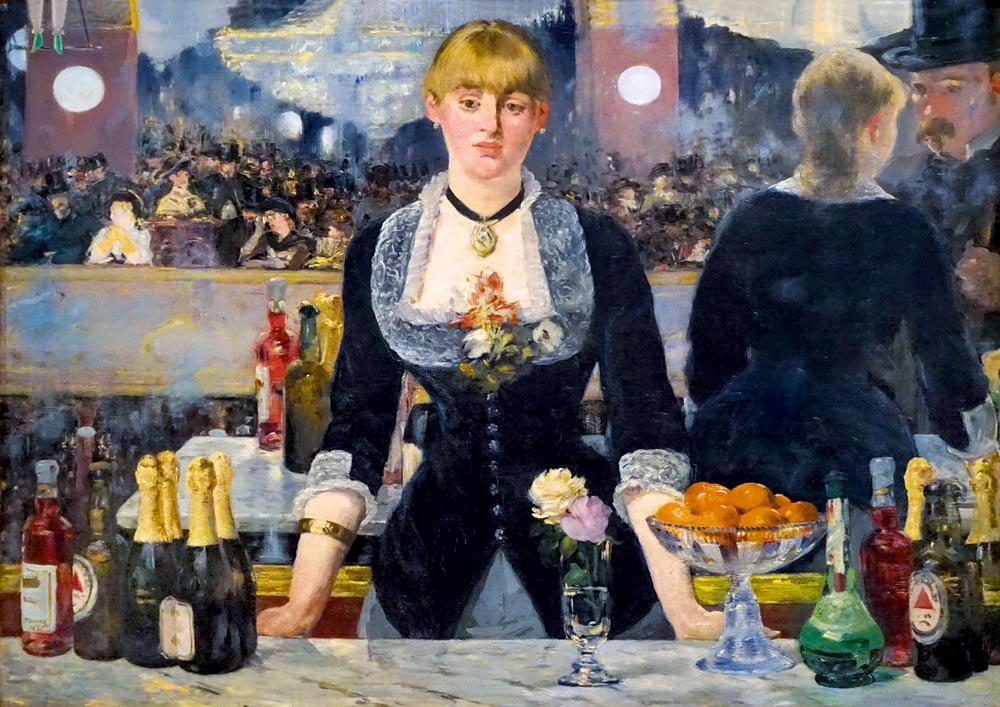 Puzzle Édouard Manet - A Bar at the Folies-Bergère, 1882