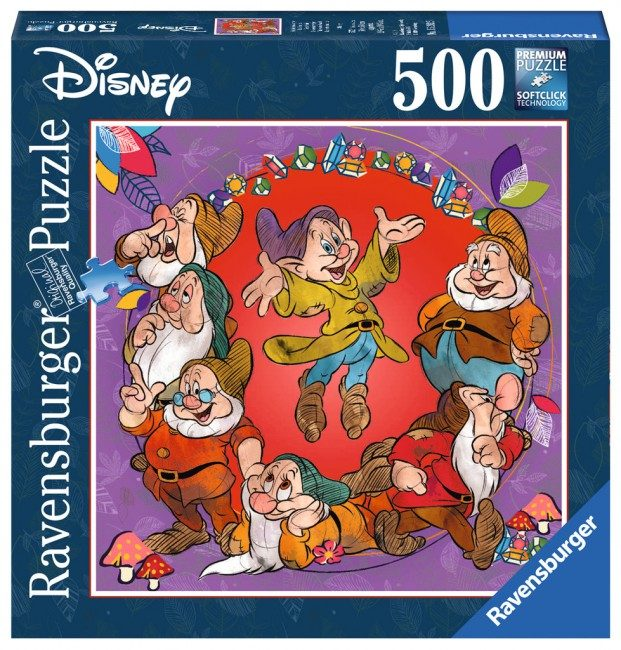 Puzzle Disney: The Seven Dwarfs image 2