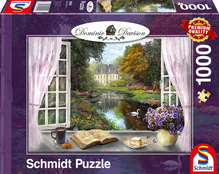 Puzzle Davison: View of the garden image 2