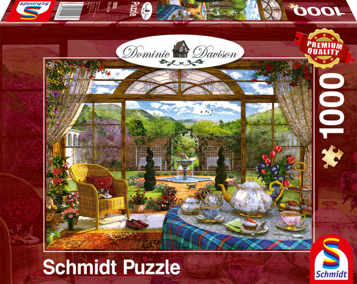 Puzzle Davison: View from the Winter Garden image 2
