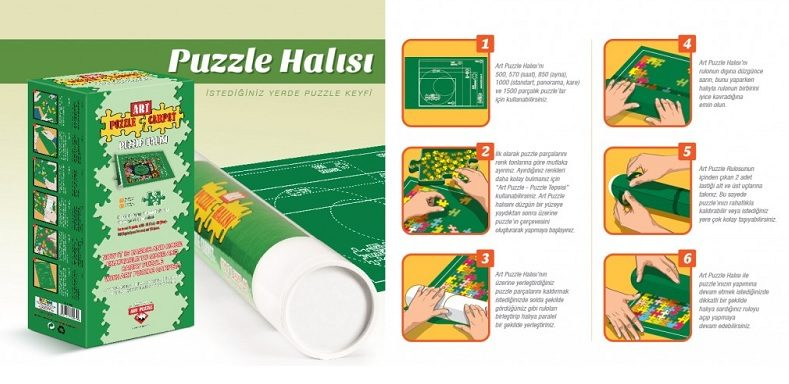 Puzzle Puzzle Roll Mat up to 1500 pieces image 2