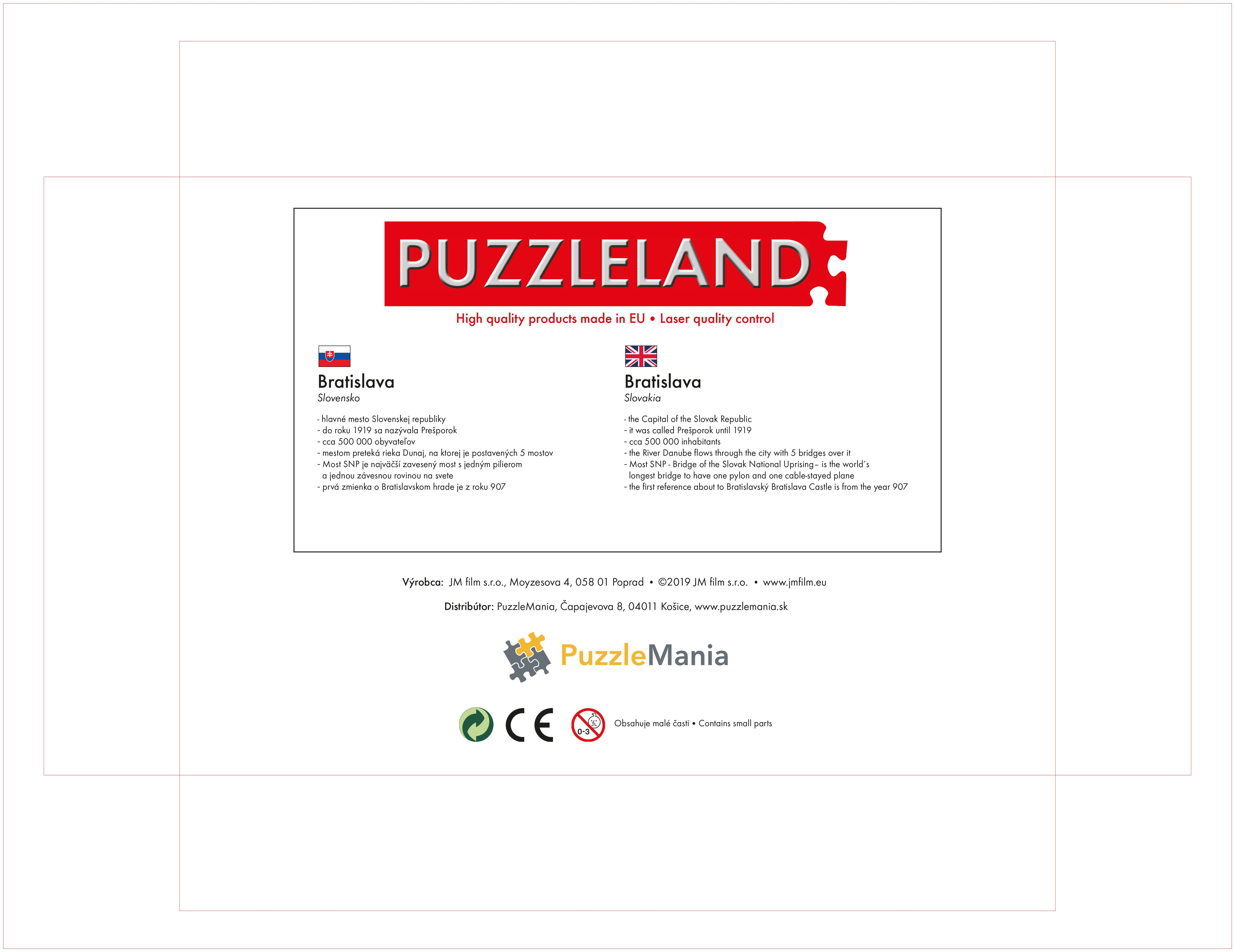 Puzzle View of the capital Bratislava image 3