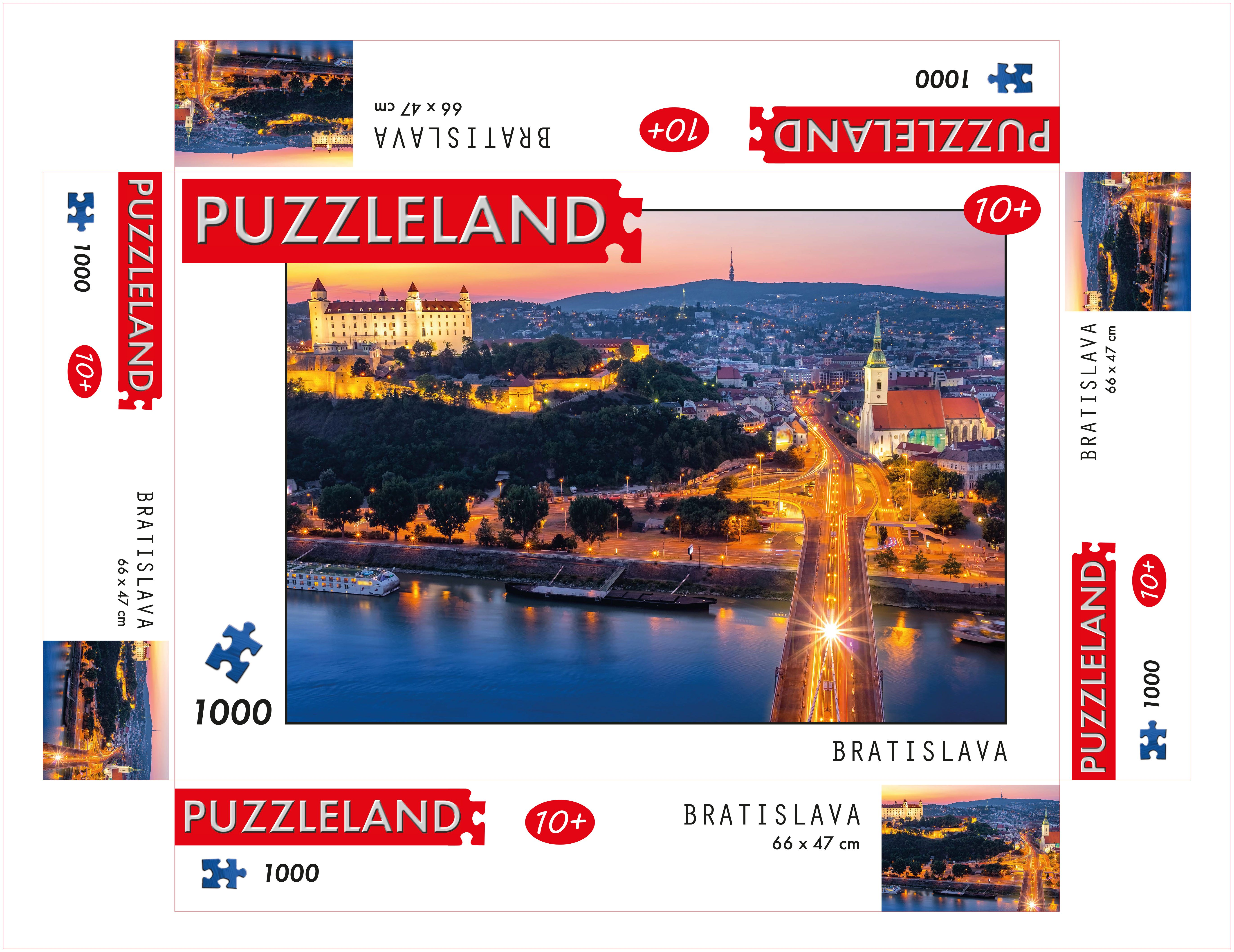 Puzzle View of the capital Bratislava image 2