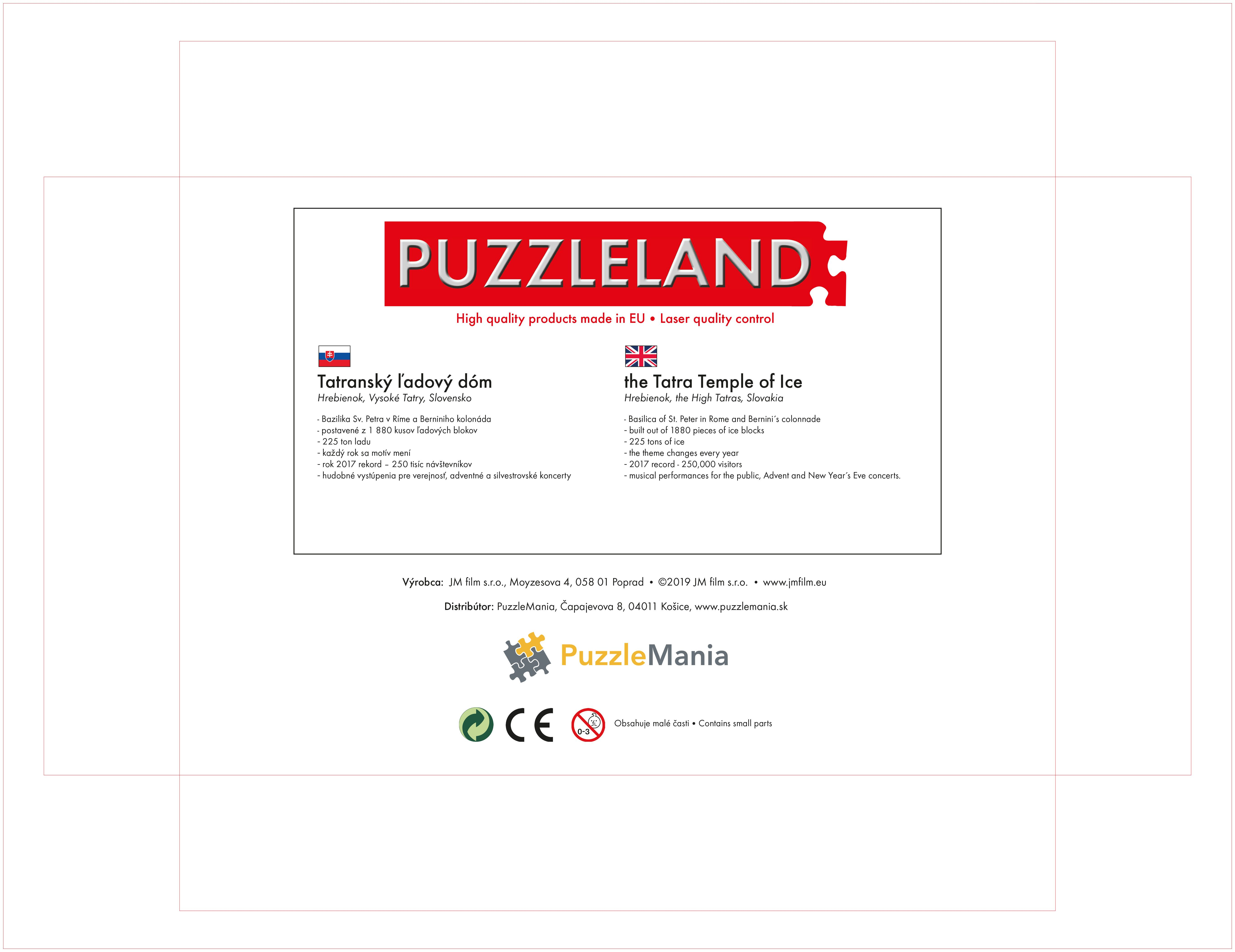 Puzzle Tatra-Haube, Hrebienok Slowakei image 3