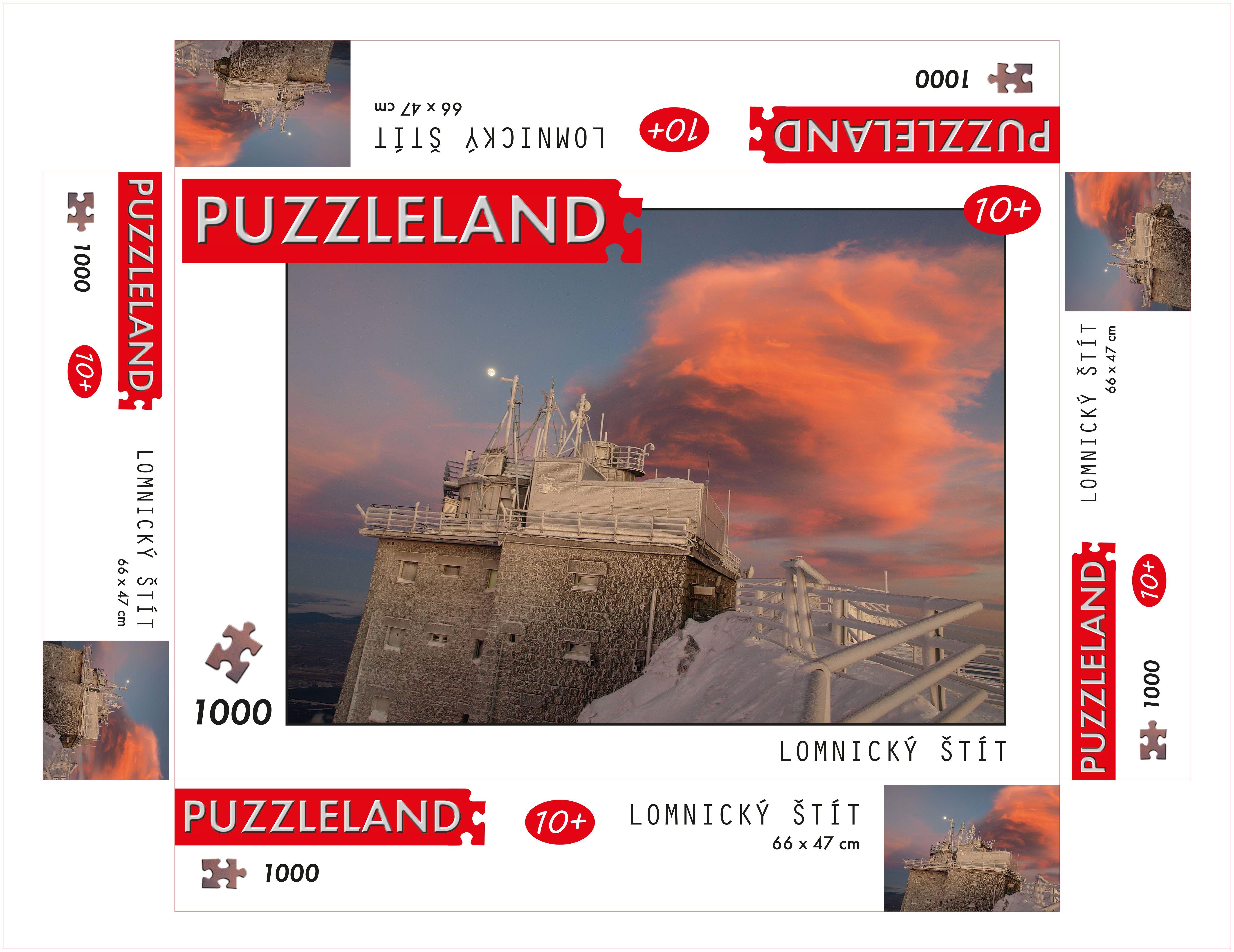 Puzzle Lomnicky Stit, Slowakei image 2