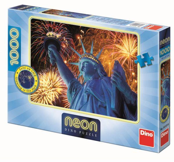 Puzzle Illuminating Statue of Liberty image 2