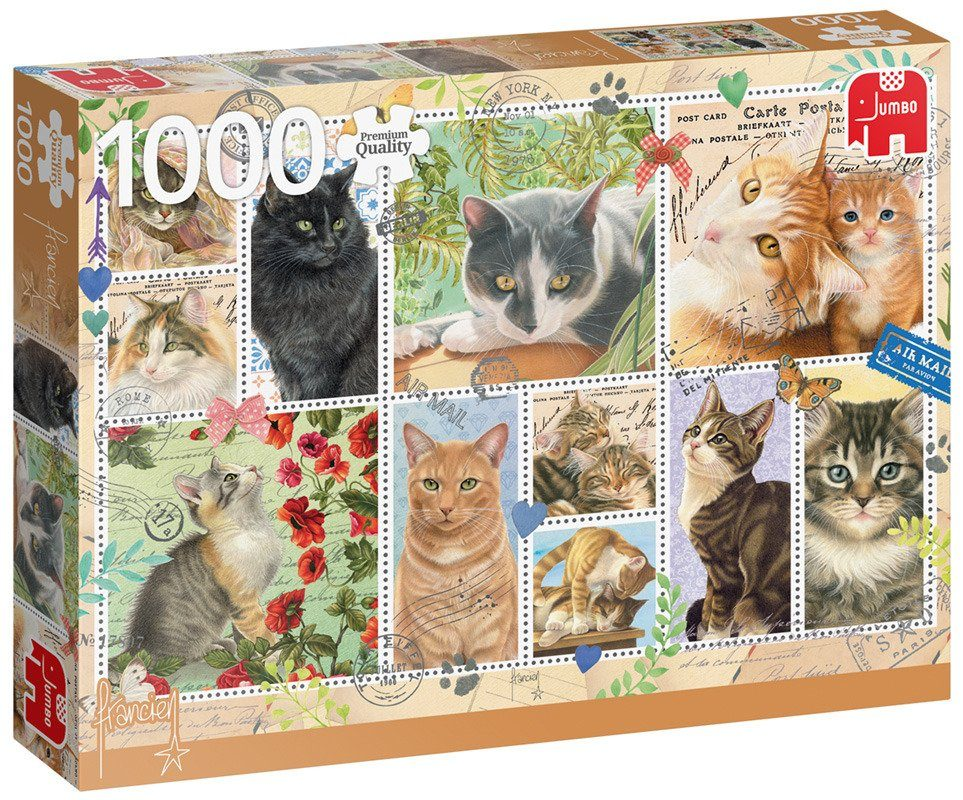 Puzzle Cat Stamps image 2