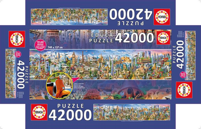 Puzzle Around the world image 3