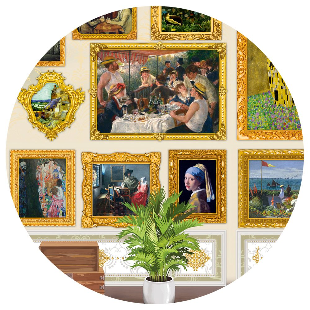 Puzzle Travel around Art! image 2