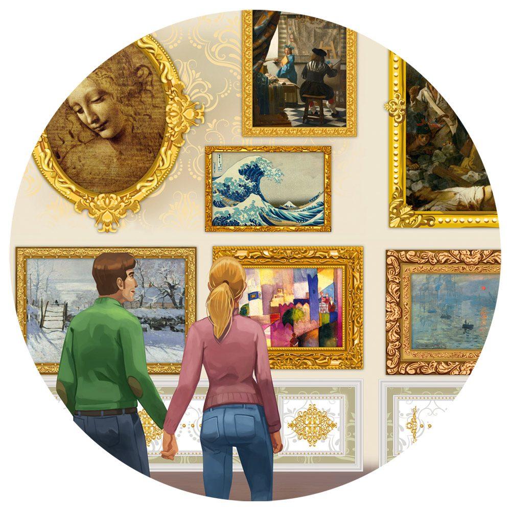 Puzzle Travel around Art! image 6