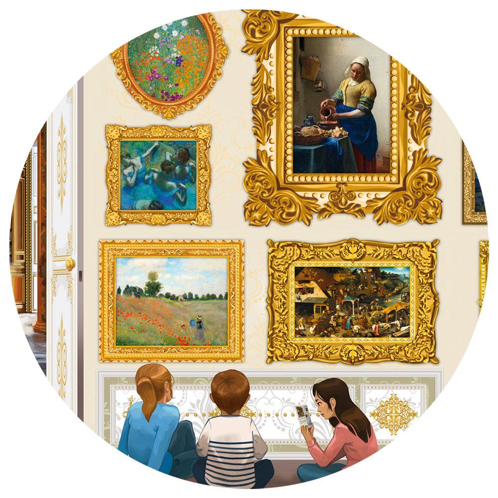 Puzzle Travel around Art! image 3