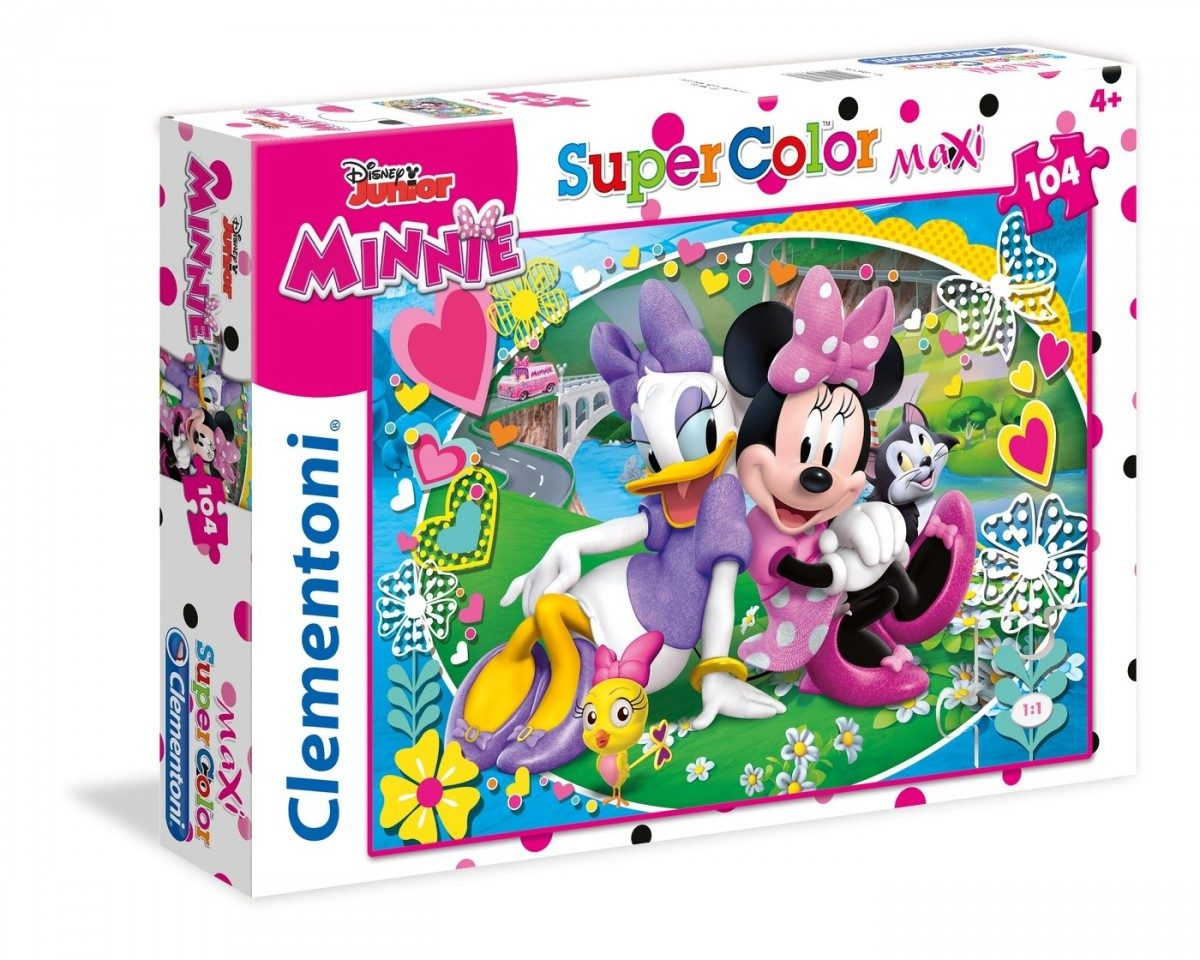 Puzzle Minnie Happy Helpers 104 maxi image 2