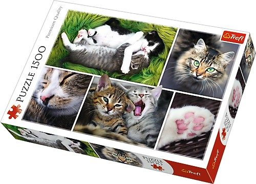 Puzzle Just Cat Things image 2