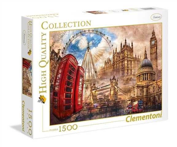 Puzzle Vintage London image 2