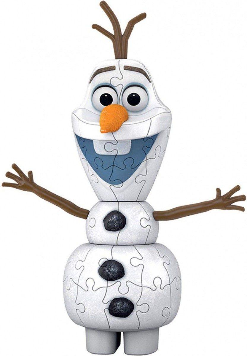 Puzzle Olaf Frozen 2 image 2