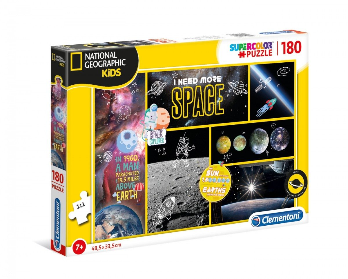 Puzzle National Geographic Kids 180 pieces image 2