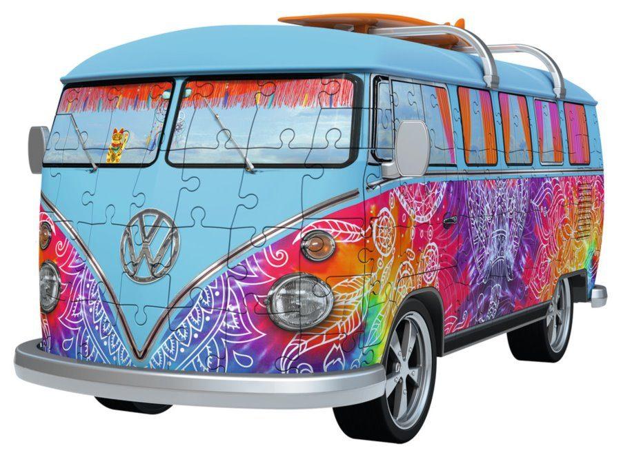 Puzzle Autobus Volkswagen T1 Indian Summer image 2