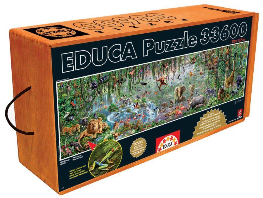 Puzzle Villi elämä image 2