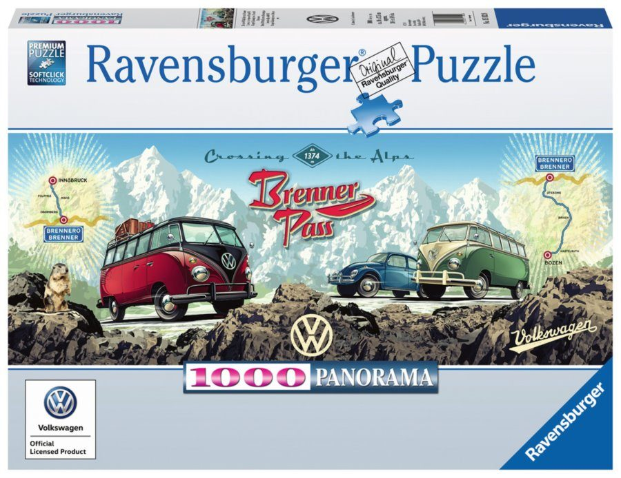 Puzzle Cross the Alps with VW! image 2