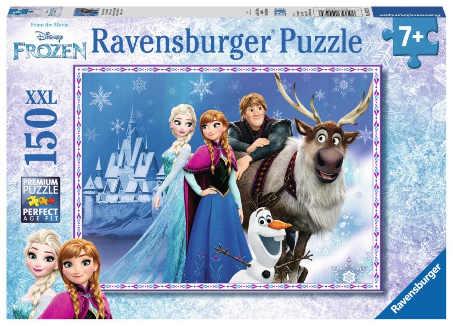 Puzzle Frozen: Friends at the palace XXL 150 dielikov image 2