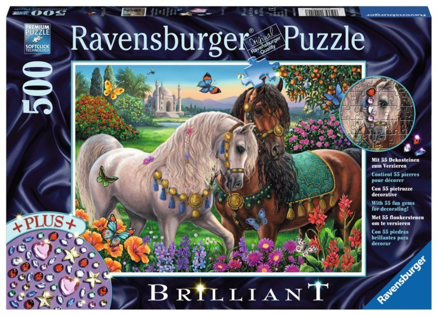 Puzzle Sparkling pair of horses image 3