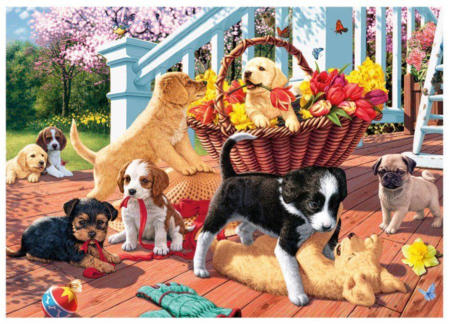 Puzzle SECRET COLLECTION: Puppies image 2