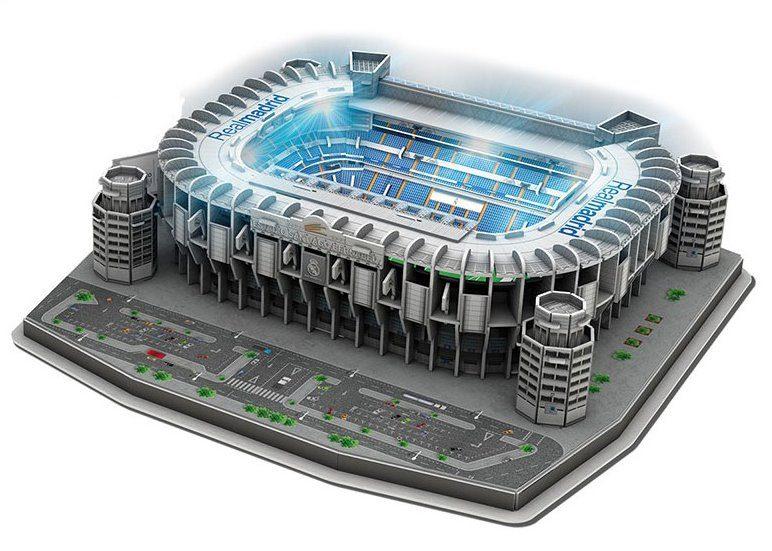 Kietas žiedas Toliau Laboratorija Real Madrid 3d Puzzle Yenanchen Com