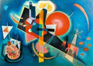 Puzzle Damaged box Kandinsky - In Blue, 1925 II